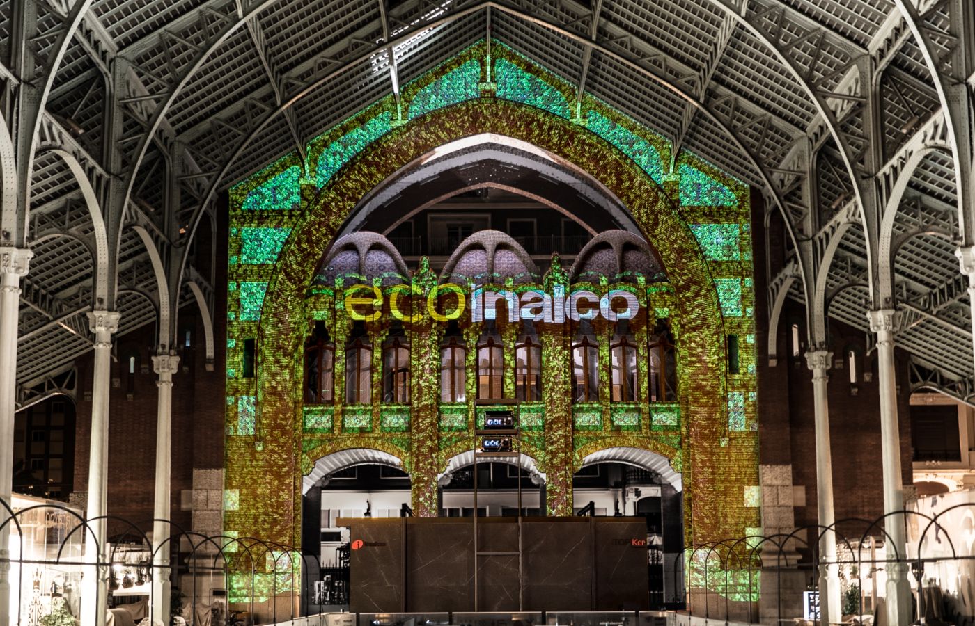Mercado Colon videomapping_2